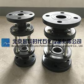 SJ-PVC管道视盅 PVC玻璃管视镜 DN25/DN50