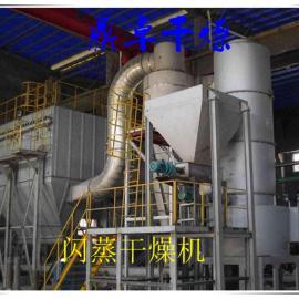 鼎卓干燥直销硫化钼旋转闪蒸干燥机 硫化钼闪蒸烘干机 产量大