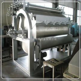 麦片滚筒干燥机,食品专用真空滚筒刮板干燥机