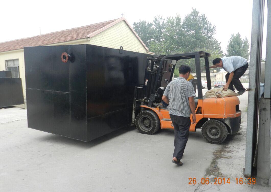 吉林市地埋式一体化污水处理设备价格