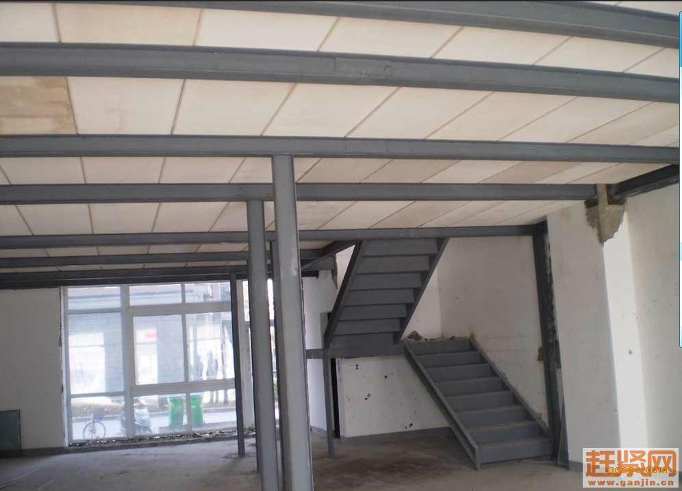 西安钢结构雨棚/西安钢结构夹层