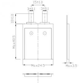 CP352440 孚安特 新品 超薄方形软包锂电池