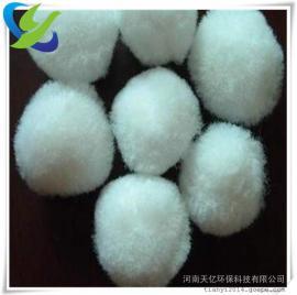 吴忠80mm纤维滤料厂家、含油污水处理用纤维球滤料