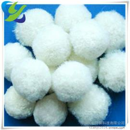 钢铁厂用纤维球滤料、25mm纤维球滤料厂家