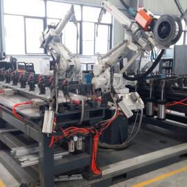 铝模板机器人自动化焊接工作站,铝模板柔性组合焊接工装夹具