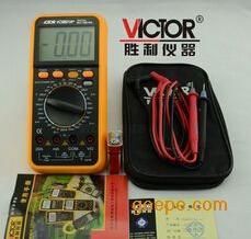 深圳胜利VC9801A+数字万用表_标配9801a+