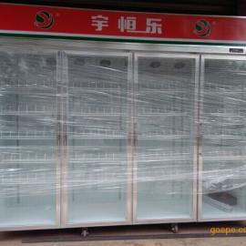 【格瑞】玻璃门摆放柜,便利店牛奶柜,连锁店陈列柜厂家批发