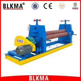 【BLKMA】电动正三星卷板机 半自动全自动三辊卷板机厂家价格