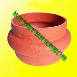 卡箍式硅胶膨胀节P27143D-02硅胶伸缩节卡箍柔性连接