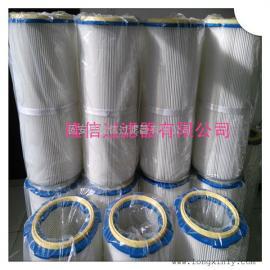 河北卡盘式塑料盖除尘滤筒除尘滤芯专业生产厂家