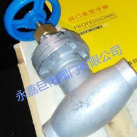 波纹管焊接截止阀
