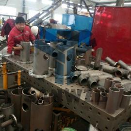 天燃气管道焊接工装夹具,法兰管件柔性焊接工装夹具