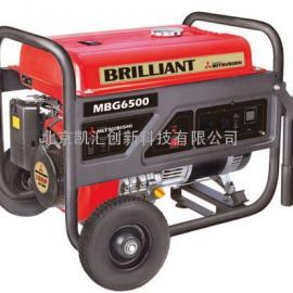 5.5kw 三菱汽油发电机 MBG6500