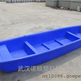 �S家直供4米水上�\�船�L塑船PE塑料船塑料捕�~船�^光船