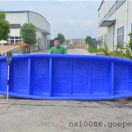 厂家直销4.6米新款打鱼船带活鱼舱 小型塑料渔船养殖渔船