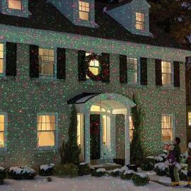 圣诞满天星草坪激光灯 户外防水 室内外装饰氛围灯