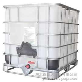 湖北1000升塑料桶 方形集装桶 叉车可堆积吨桶