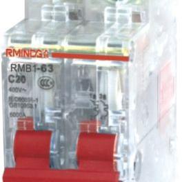 上海人民DZ47-63/3P系列高分段透明小型断路器