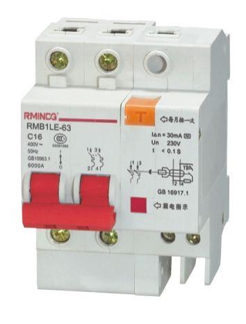 DZ47-63/3PRMB1LE-63/3P系列漏电断路器