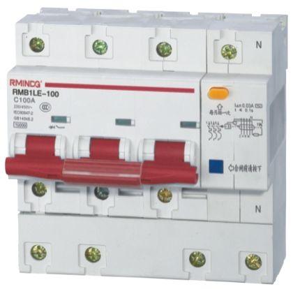 DZ47-100/4PRMB1LE-100/4P系列漏电断路器