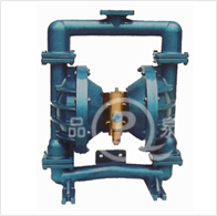 现货供应QBY-50流体衬氟气动隔膜泵 全衬氟型气动双隔膜泵