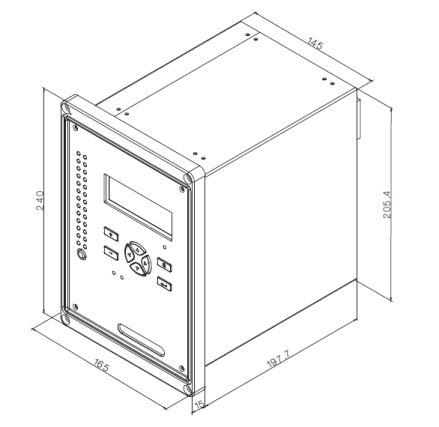 南自***实惠***便宜性价比***高的综保PS645UX微机保护