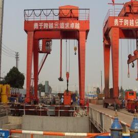 合肥专业供应80吨-40M工程用起重机双主梁吊钩门式起重机