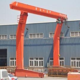 厂家直销L型电动葫芦门式起重机 单主梁吊钩门式起重机