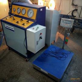 YJ七氟丙烷灌装设备 消防瓶3C认证检测设备