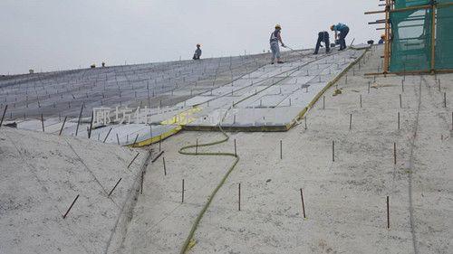 100mm厚水泥面玻璃纤维棉保温板