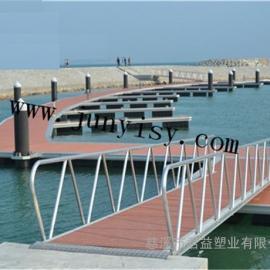 游艇码头塑料浮箱 1200*800*550滚塑浮箱厂家