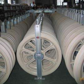 单轮660*100大直径放线滑车放线滑车批发