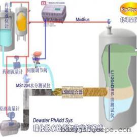 油/水界面监控自动放水系统