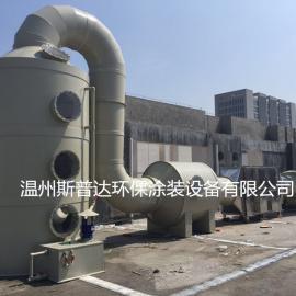 VOCs有机废气沸石分子筛吸附浓缩+氧化处理技术系统设备