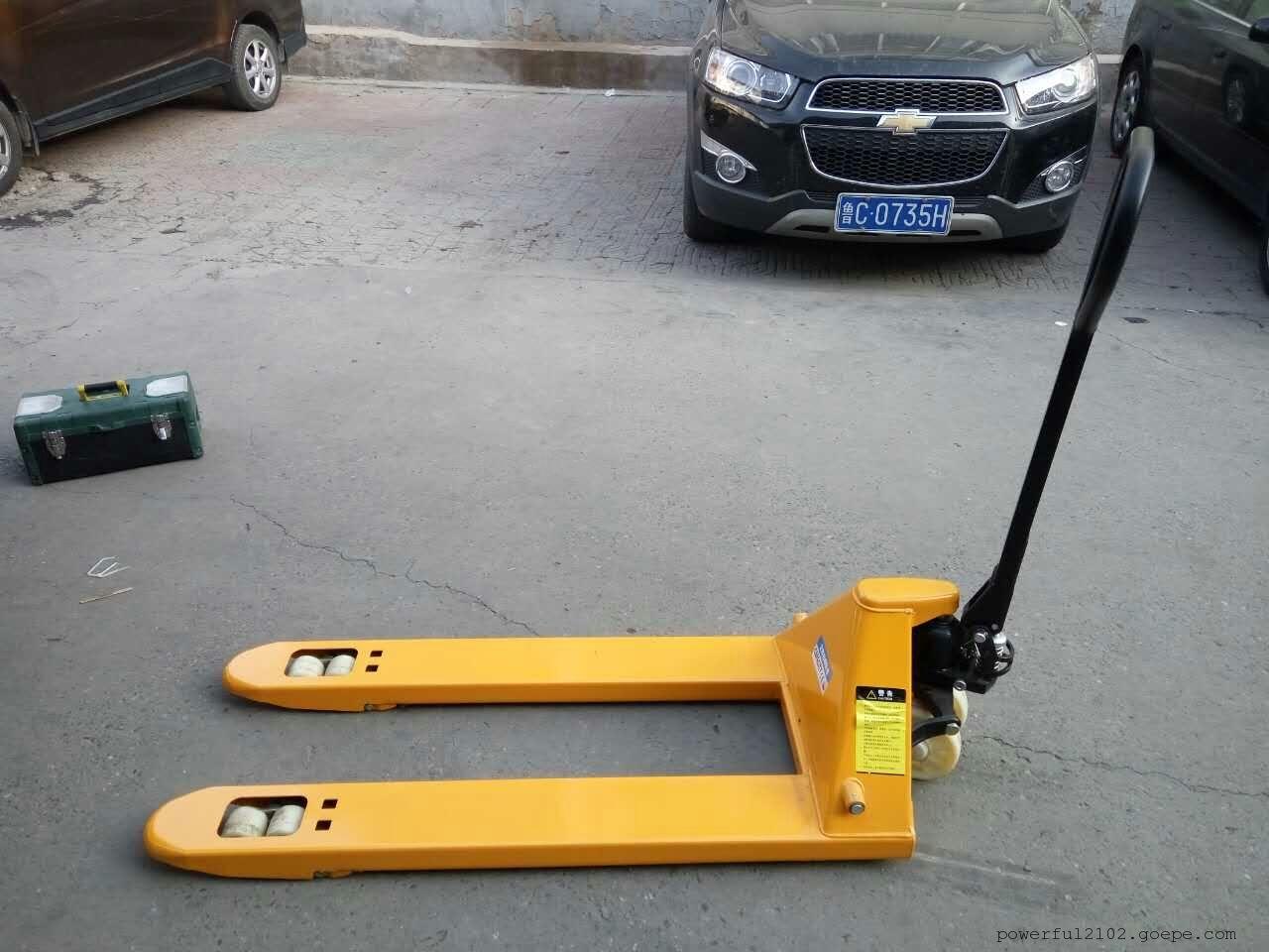 北京诺力2吨液压车 手动液压搬运车 地牛 手动搬运车 电动搬运车