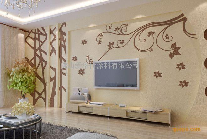 广东顺德房屋内墙装修涂料金太郎硅藻泥环保除甲醛