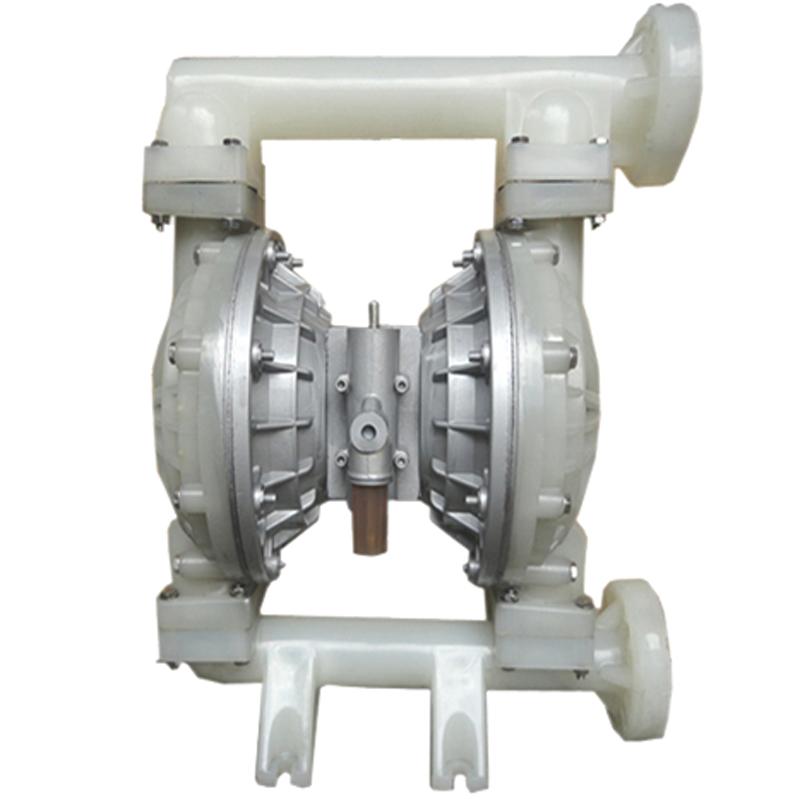 【限时特价】供应QBY-50气动隔膜泵 塑料型气动双隔膜泵 聚丙烯气
