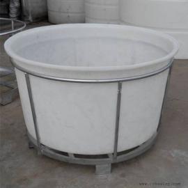直销平望M1000L白色塑料桶化工桶耐腐蚀垃圾桶