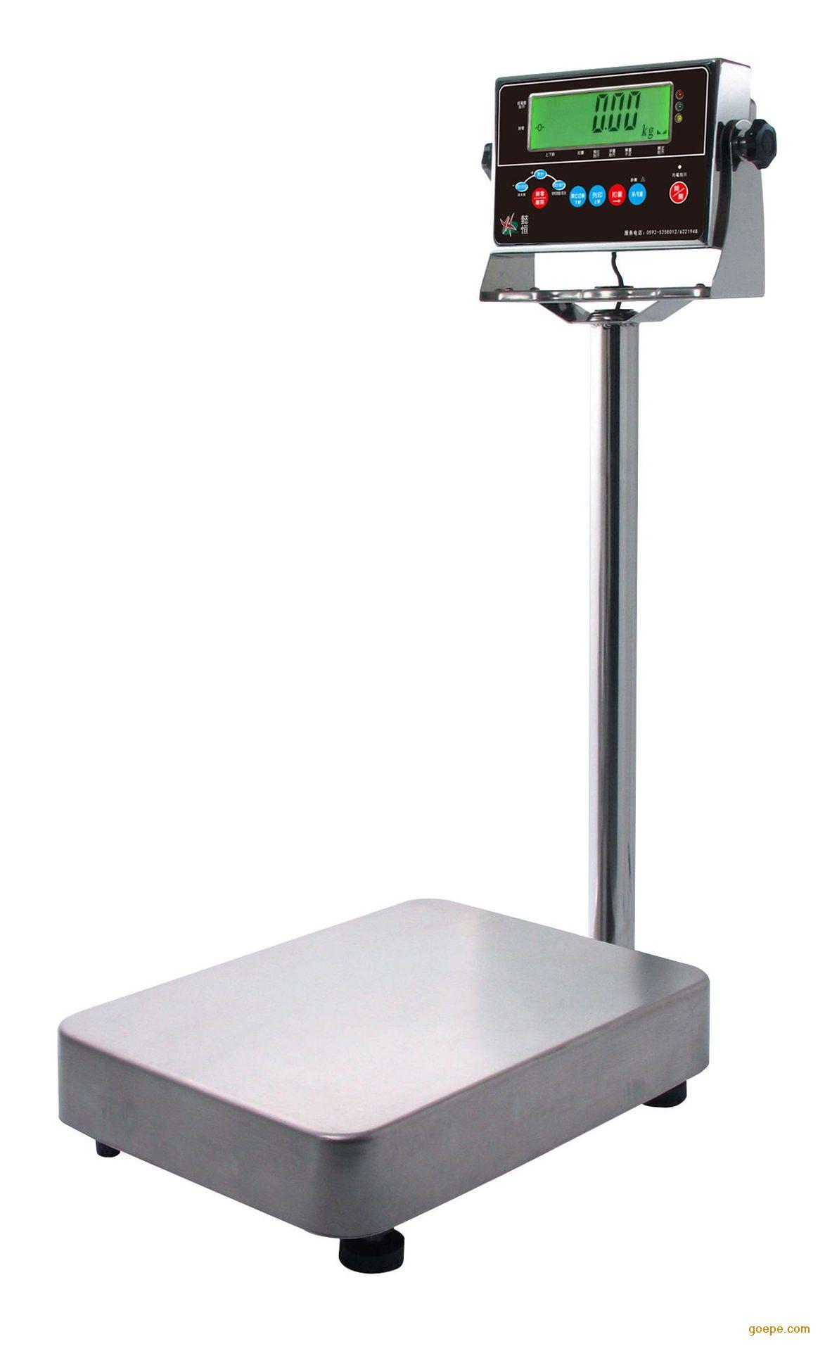 工业计重电子秤 钰恒200公斤台秤 高精度计重台秤