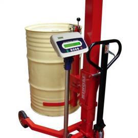 油桶车电子秤 倒桶秤 钰恒抱桶电子秤