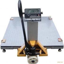 钰恒小地磅 升降移动式地磅 电子地磅秤 电子叉车地磅