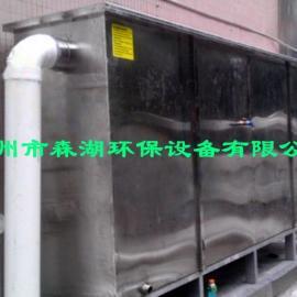 衡阳餐饮排污地埋式隔油池厂家 衡阳食堂饭店半自动油水分离器图