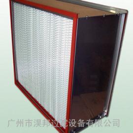 无菌压缩迷褶式过滤器,洁净室专用超高效率空气过滤器,净化工程