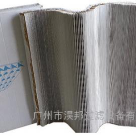 单面初效过滤棉瓦楞纸,油漆过滤纸风琴式,干式过滤纸