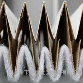V型褶皱干式过滤纸,干式喷漆房油漆过滤纸,瓦楞纸