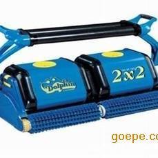 泳池水处理设备厂家 海豚22全自动泳池吸污机 除污设备