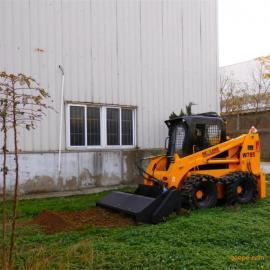 HCN屈恩机具旋耕机,小型犁地机,滑移装载机旋耕机