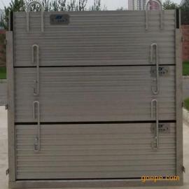 叠梁闸门漏水防治方法及安装