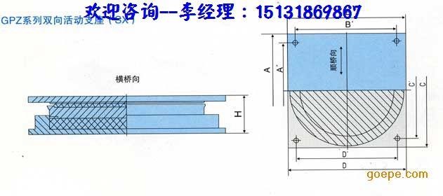 4,支座建筑高度低,对桥梁设计非常有利.