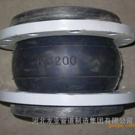 供应全型号橡胶软接头减震器,河北龙业管道集团橡胶软接头厂家